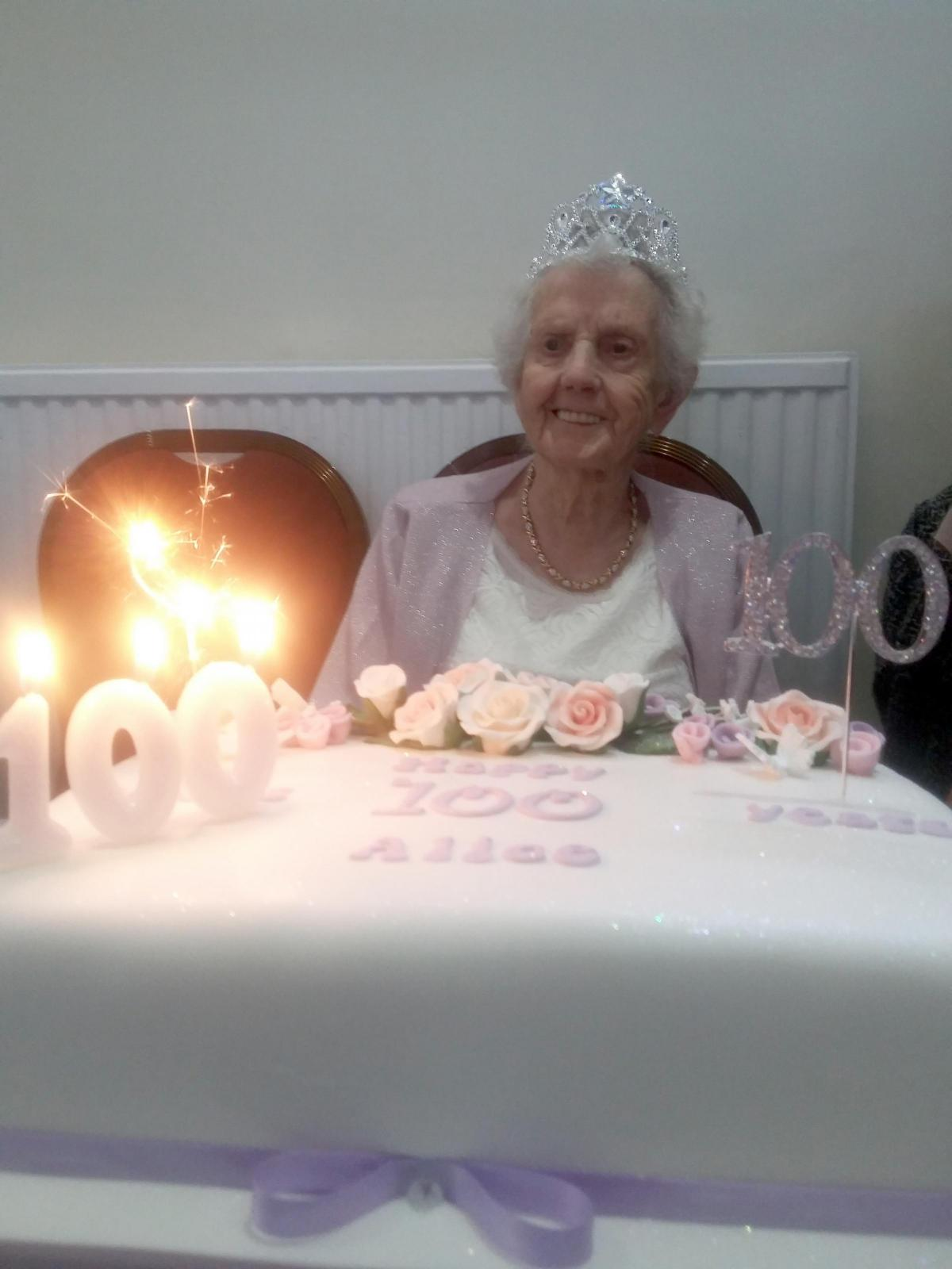 Great Grandmother Of Six Alice Blower Has Two Parties To Celebrate Her 100th Birthday