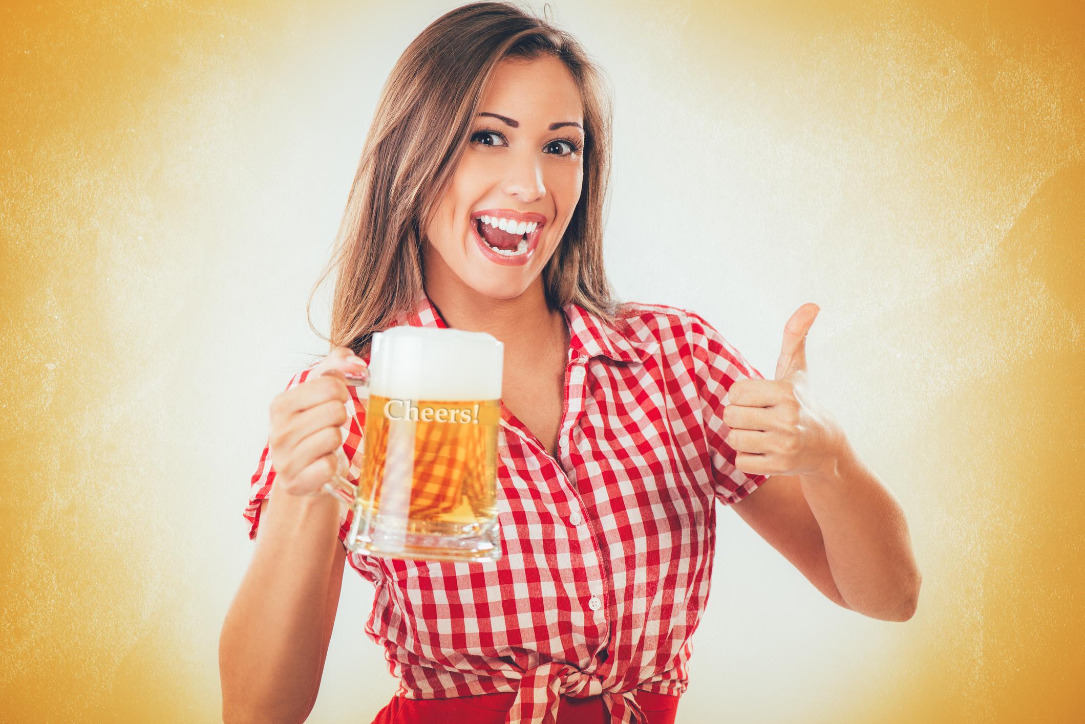Фото девушек с пивом в руках