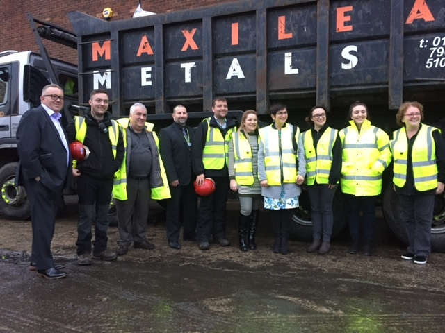 The Maxilead Metals team in Tyldesley