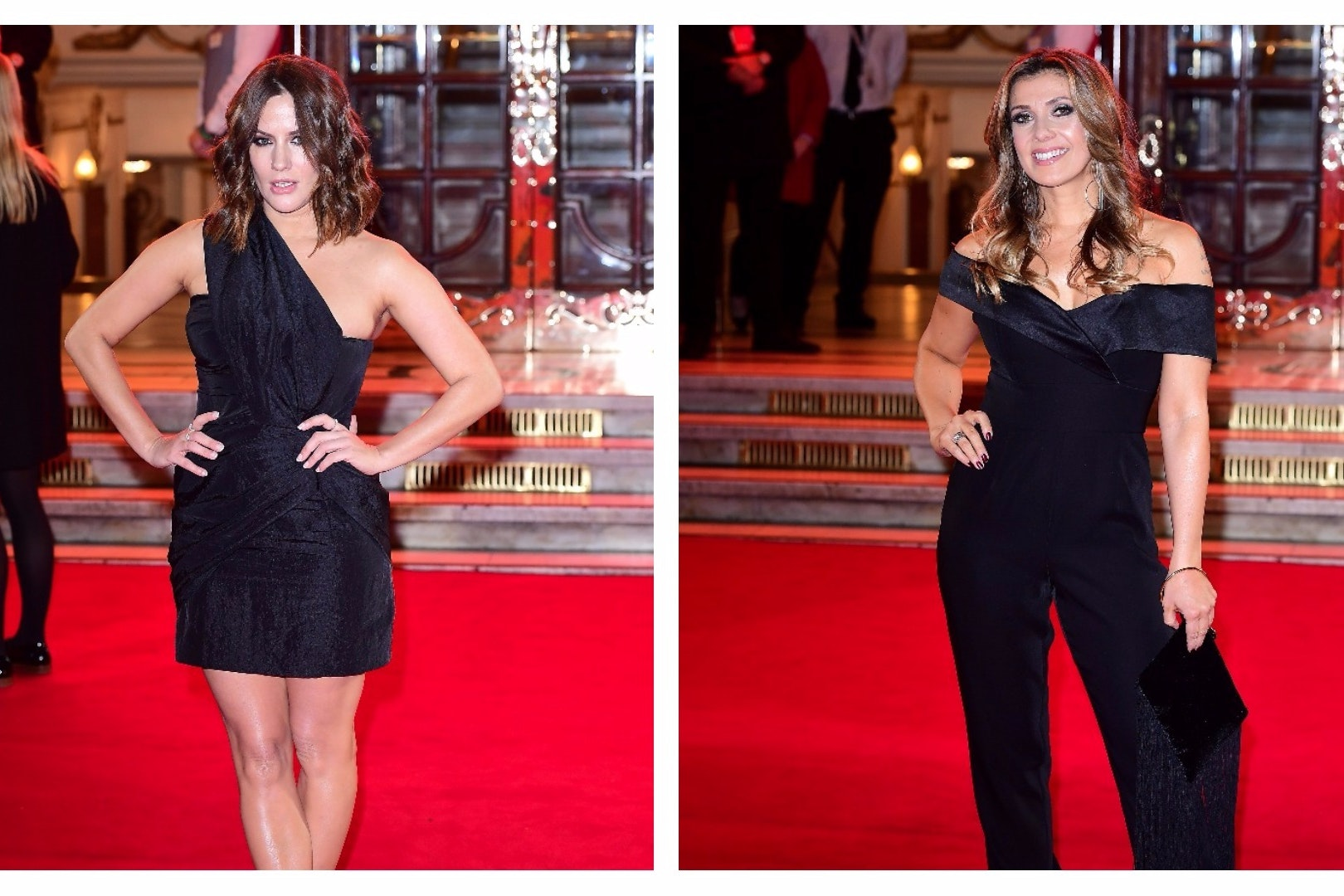 Caroline Flack and Kym Marsh lead stars at ITV Gala (Ian West/PA)