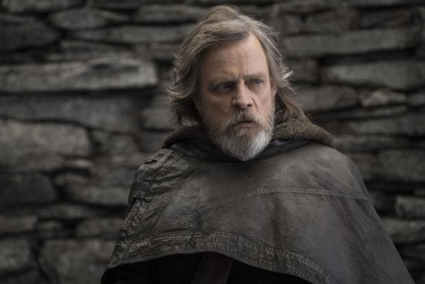 Leigh Journal: Mark Hamill as Luke Skywalker. Photograph: PA Photo/Lucasfilm Ltd/John Wilson