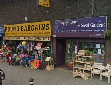 The Happy Homes and Great Gardens shop on Market Street. Picture: Google