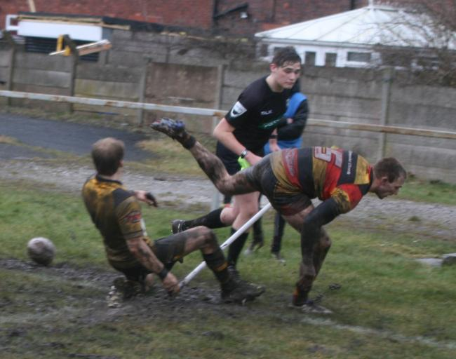 Action from Leigh Miners and Pilks