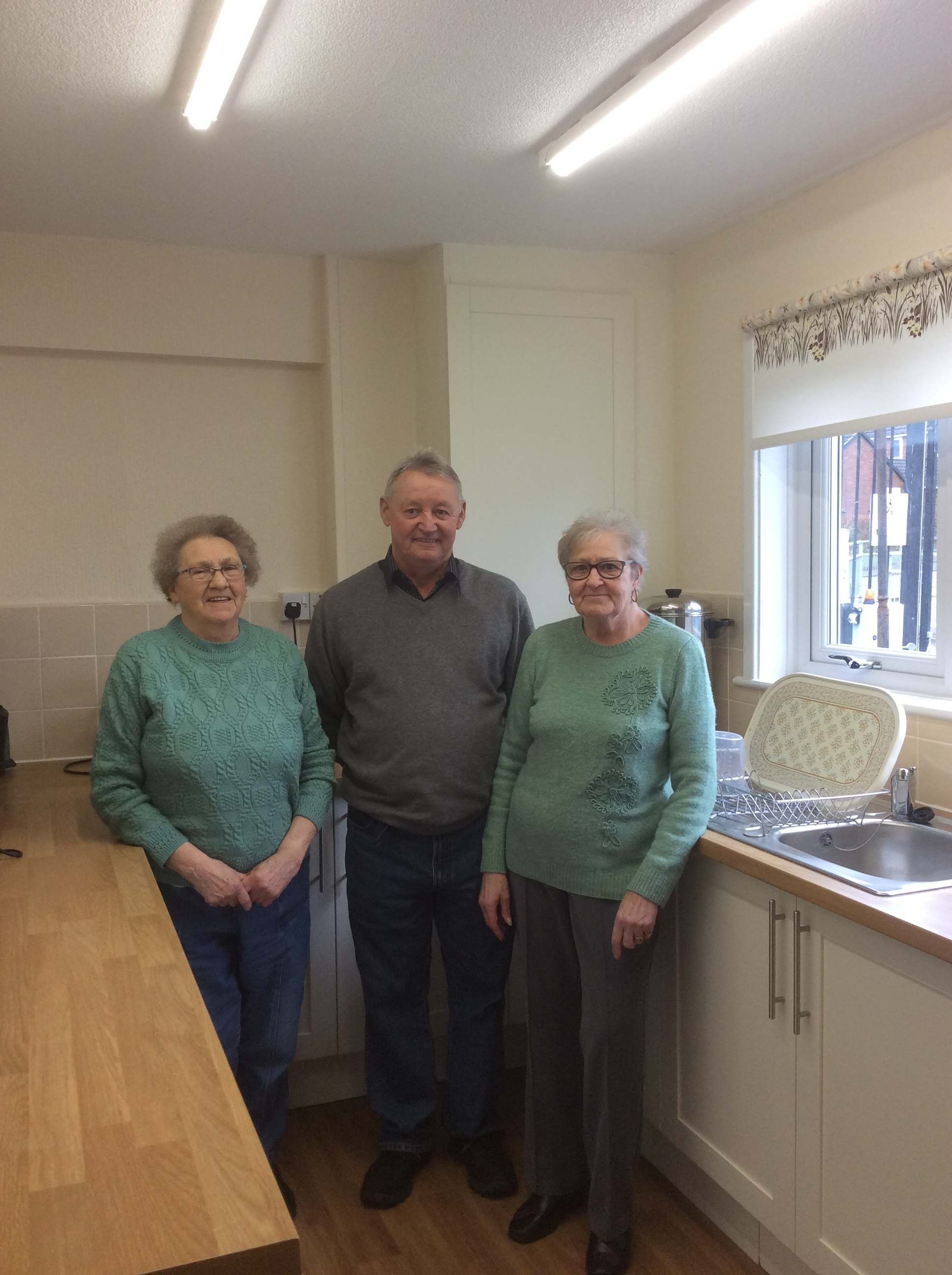 Service users at the newly refurbished centre