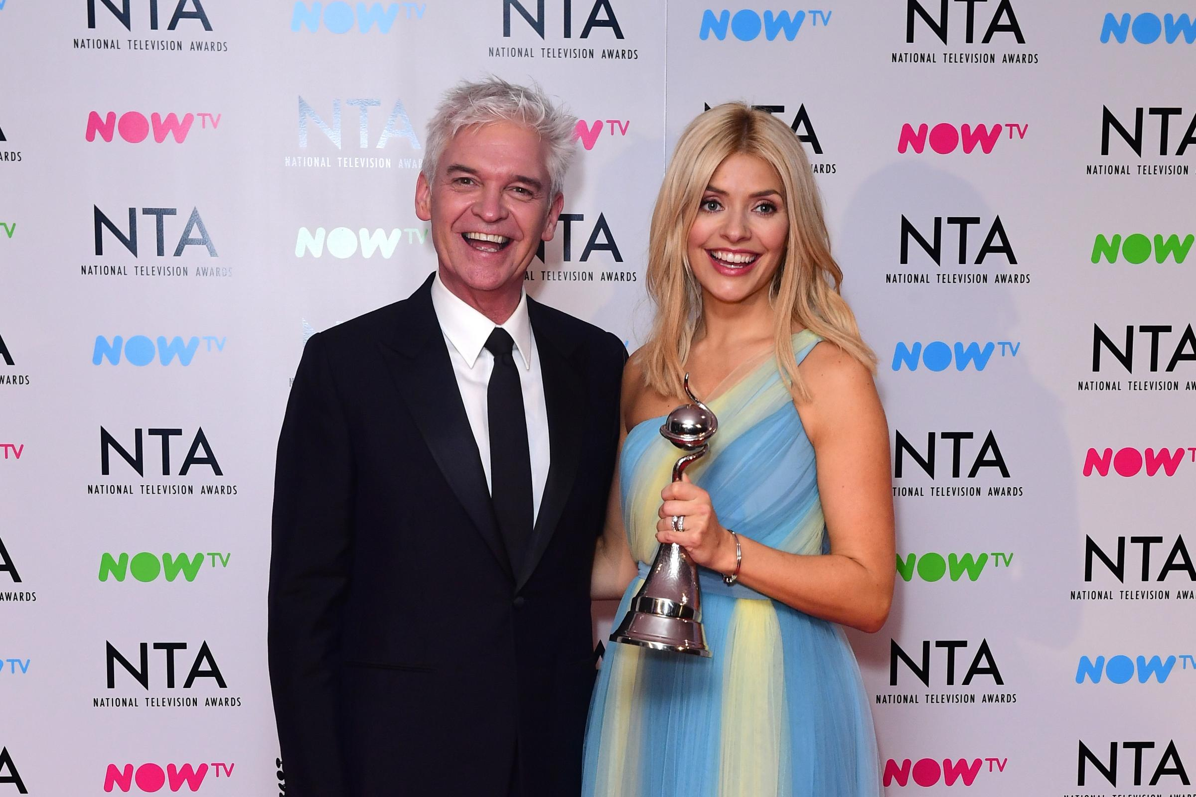 Philip Schofield and Holly Willoughby (Ian West/PA)