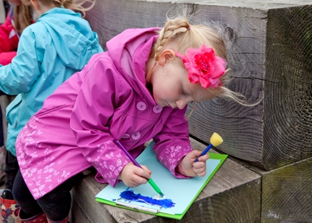 The family-friendly creative walk will take place at Pennington Flash Country Park on Saturday, April 21
