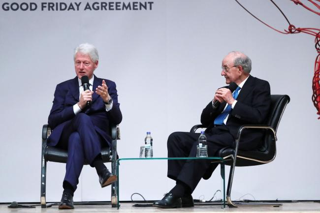 Bill Clinton Hails Genius Of Good Friday Agreement Leigh Journal