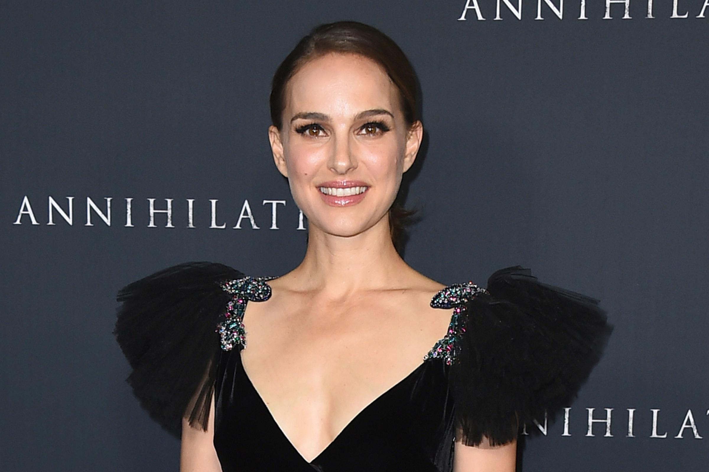 Natalie Portman said she will not collect a Genesis Prize (Jordan Strauss/AP)
