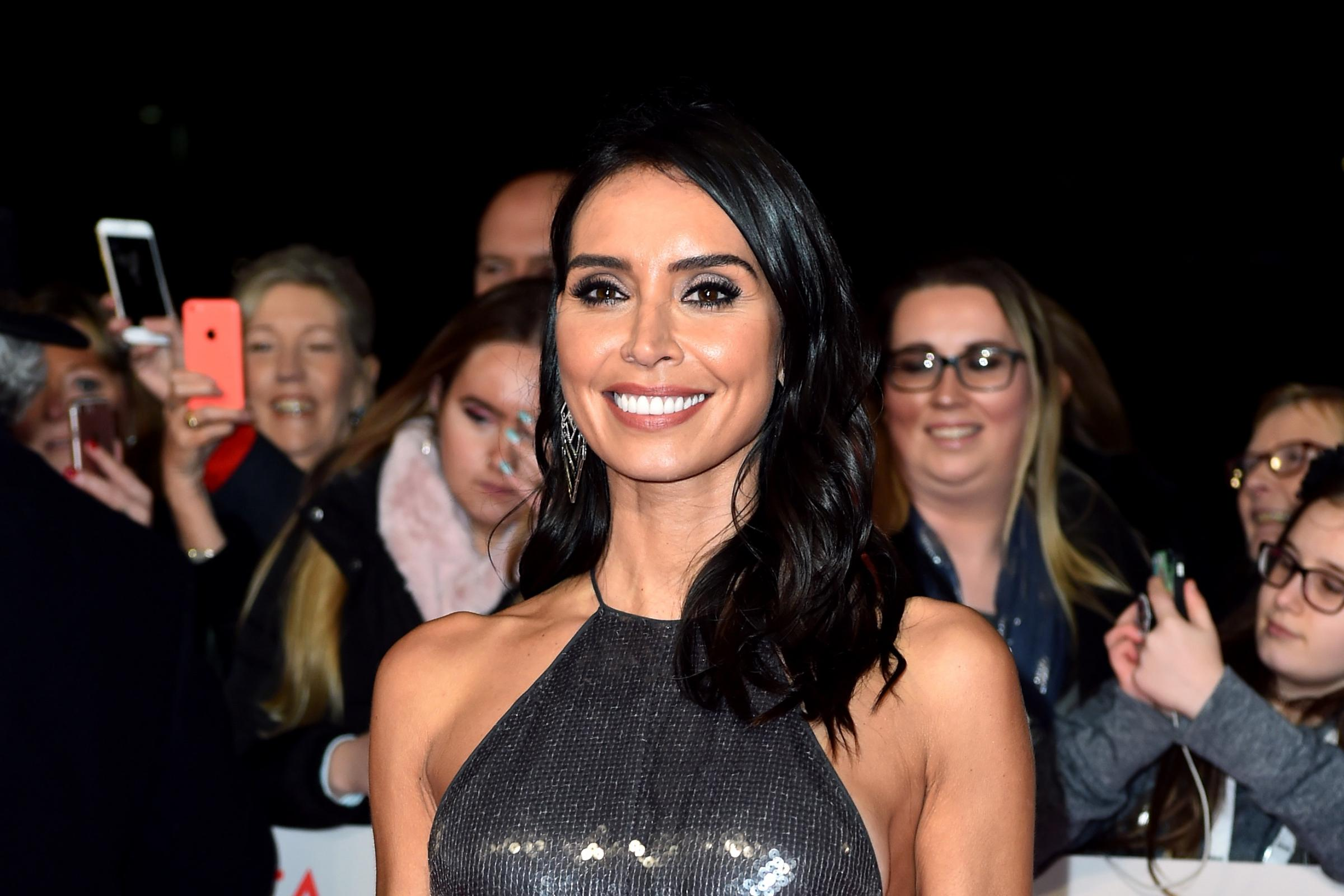 Christine Lampard admits to feeling 'nervous' over revealing pregnancy (Matt Crossick/PA)