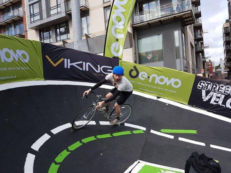 A pop up velodrome will be set up outside Leigh Town Hall tomorrow, Thursday
