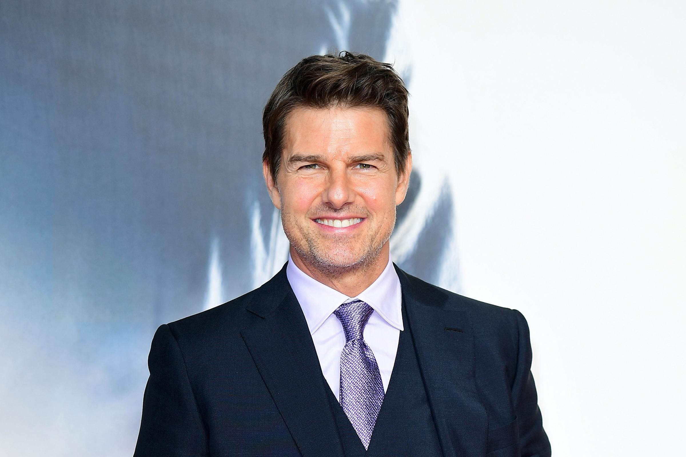 Tom Cruise at the Mission Impossible Fallout Premiere