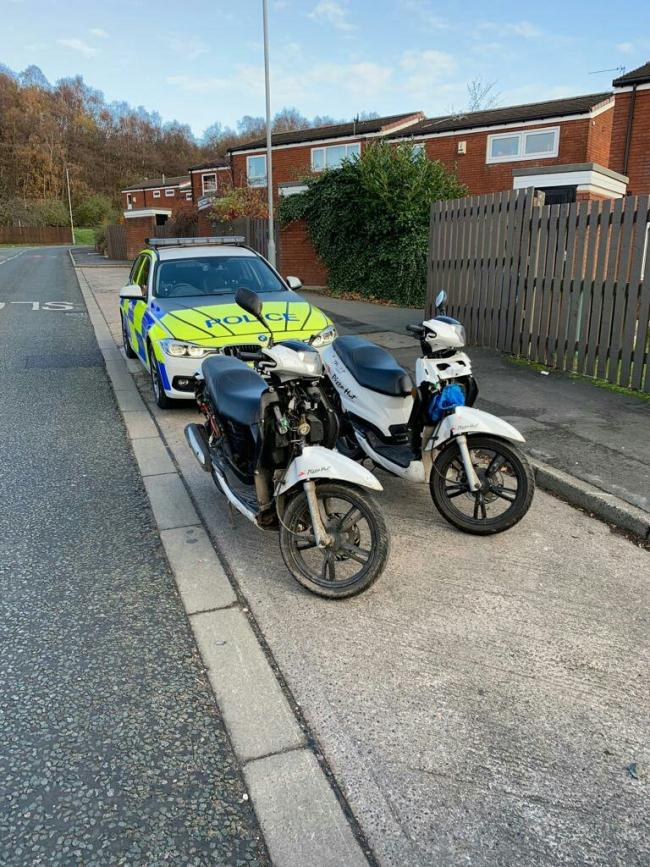 Stolen Pizza Hut Scooters Recovered Leigh Journal