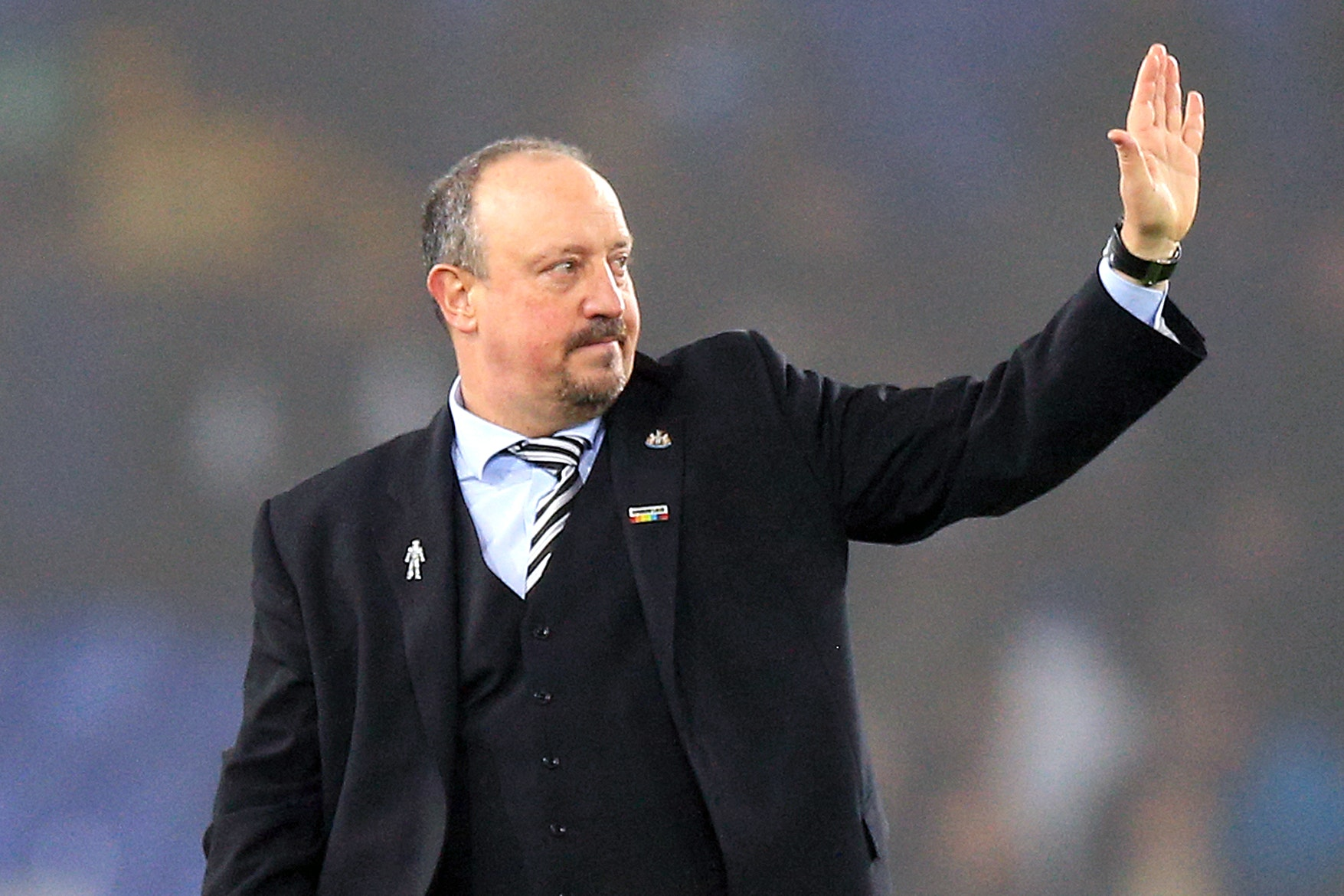 Newcastle manager Rafael Benitez has thanked the club's fans for their support