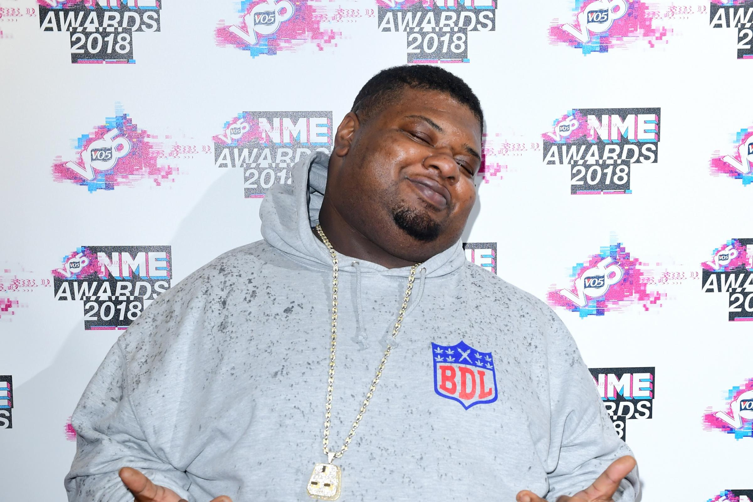 Big Narstie at an event