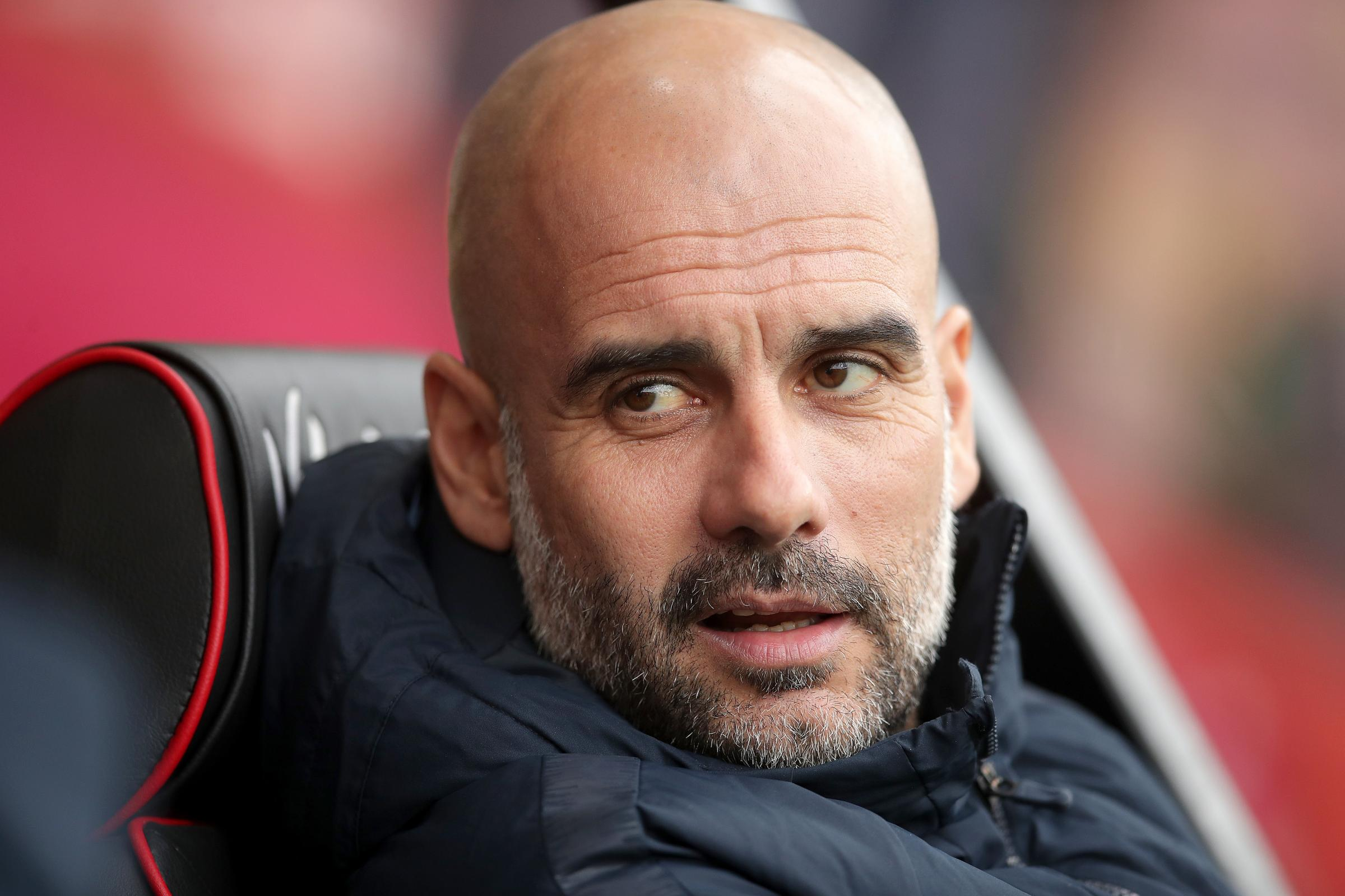 Pep Guardiola will be hoping his Manchester City side can continue their assault on a quadruple