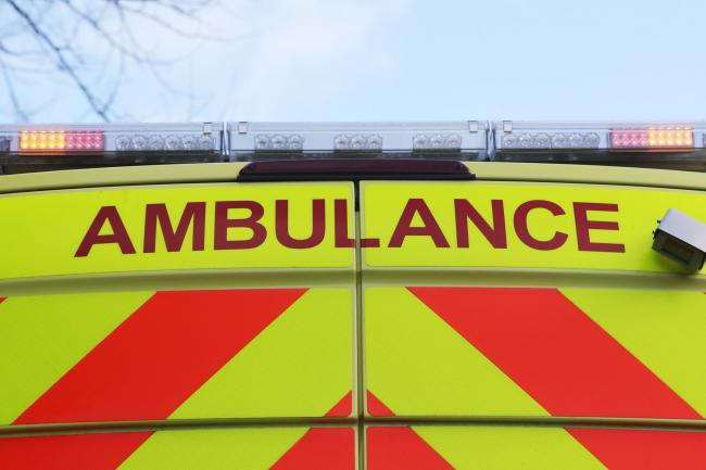 Ambulance crews have been called to an address in Golborne