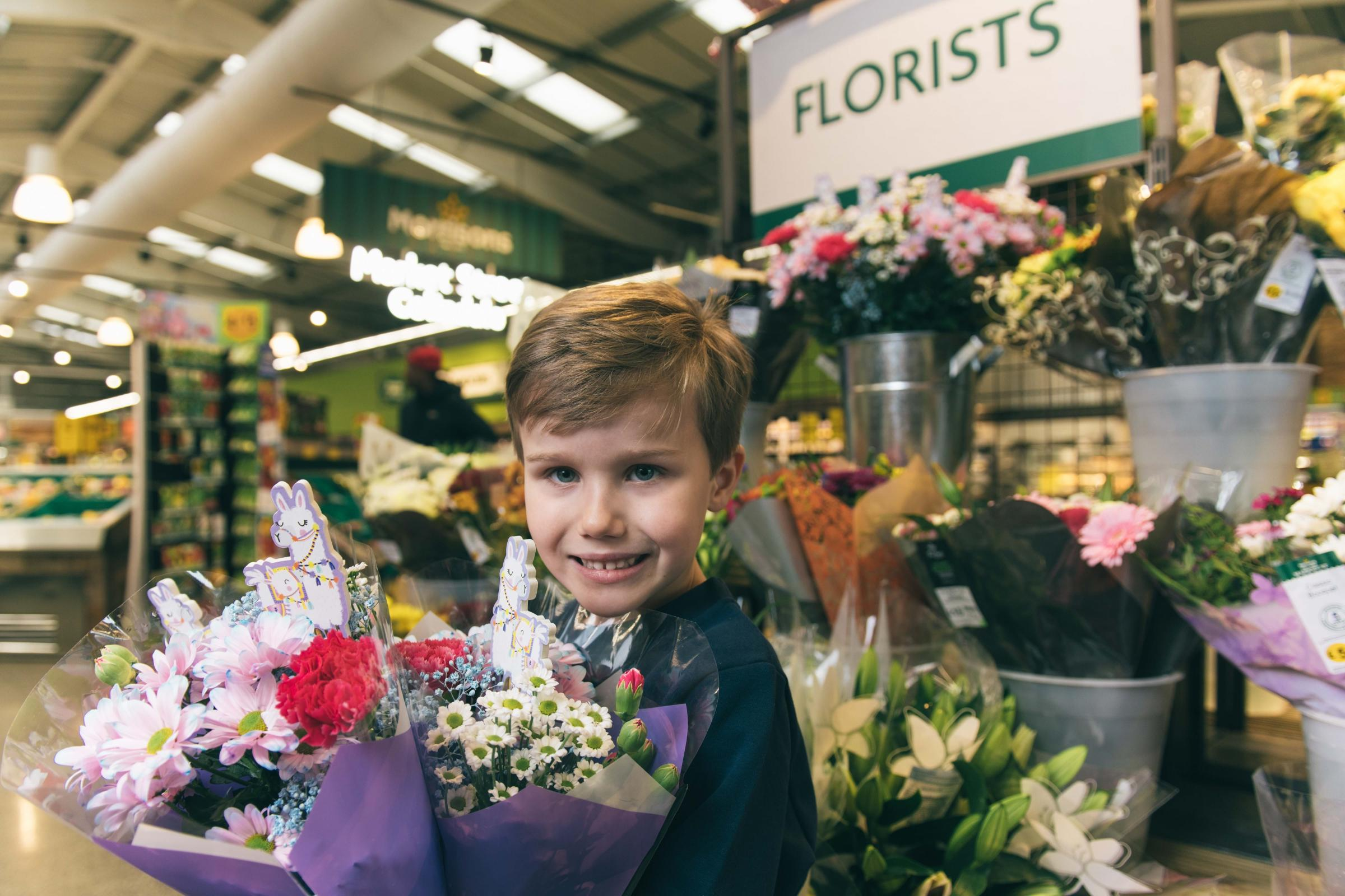 Morrisons is launching an affordable bouquet for children this Mother's Day
