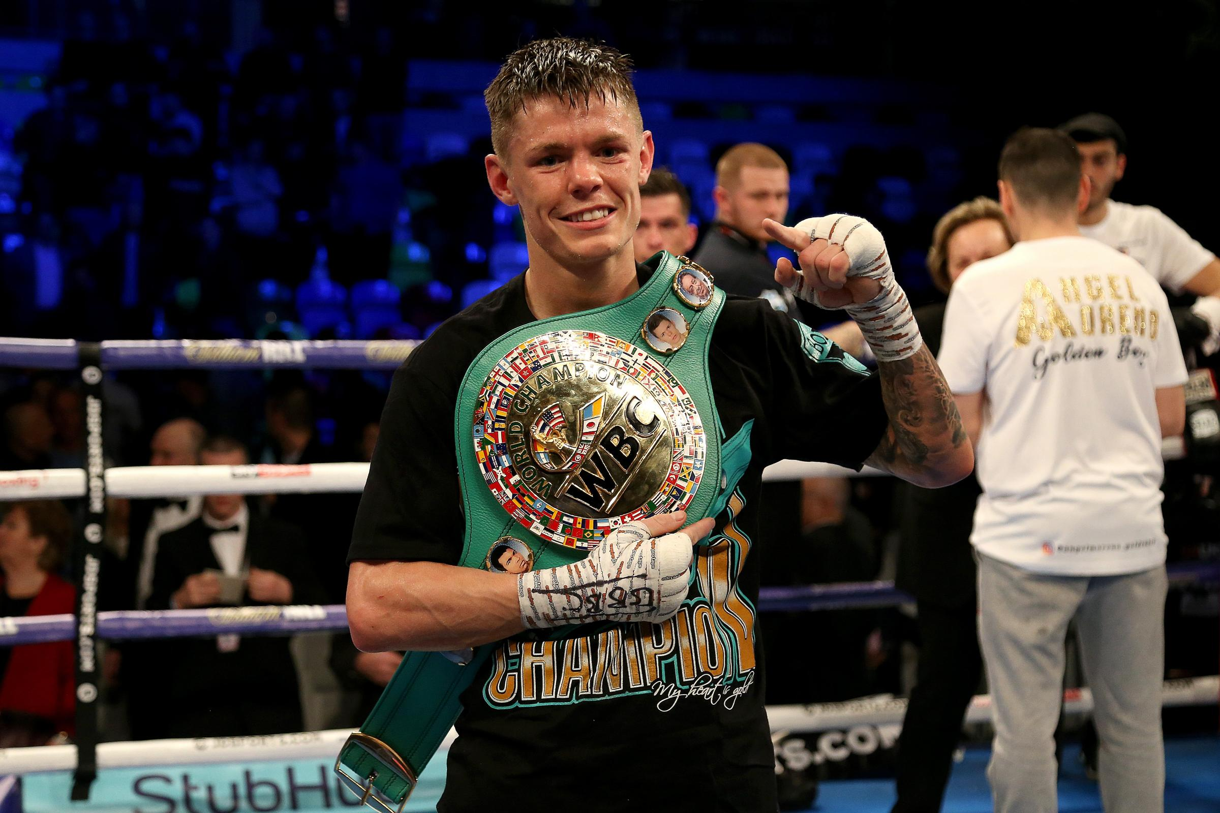 Charlie Edwards defended his flyweight title