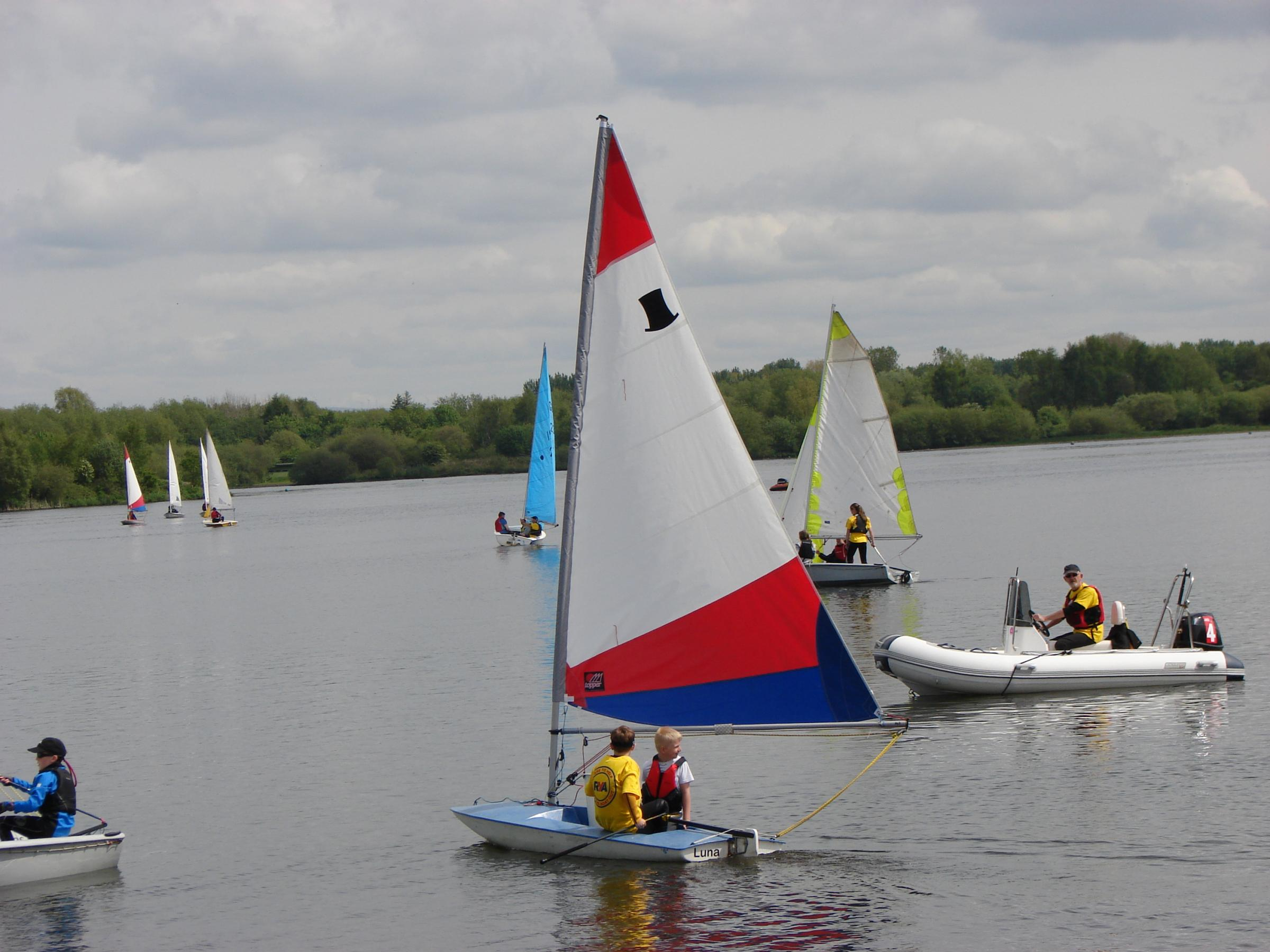 Try Sailing for FREE in May!
