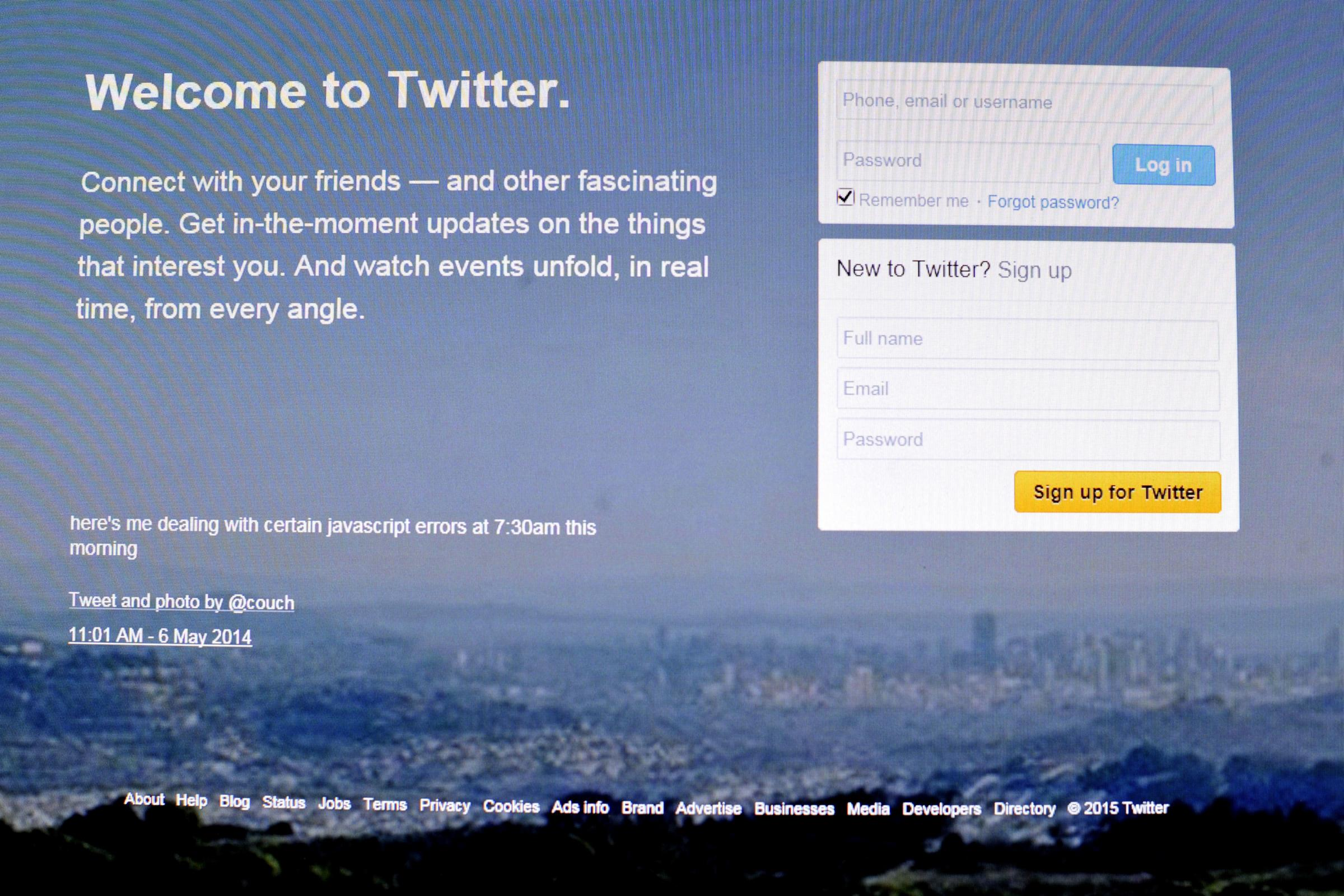Twitter account branded 'homophobic' after mass-blocking