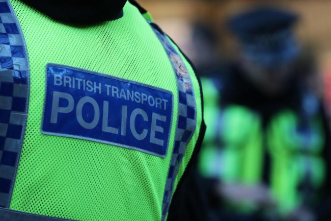 British Transport Police were called to the railway line near Wigan yesterday, Wednesday, at around 3.45pm