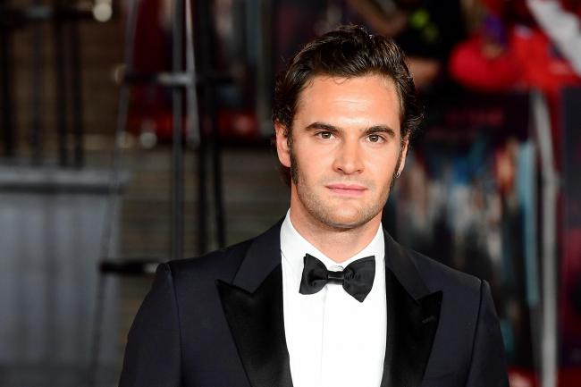 Actor Tom Bateman, who plays former soldier John Beecham in the ITV drama Beecham House
